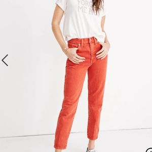 MADEWELL - The Momjean (Garment-Dyed Edition)